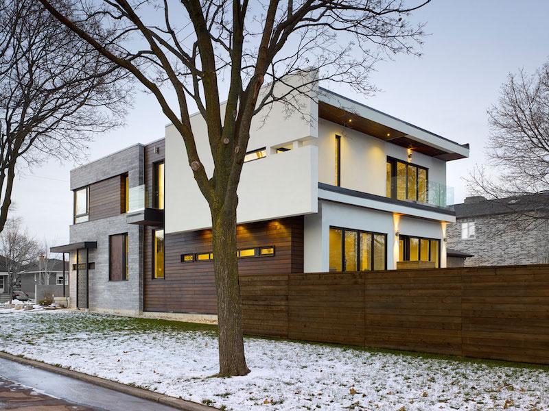 Garden Void House exterior design