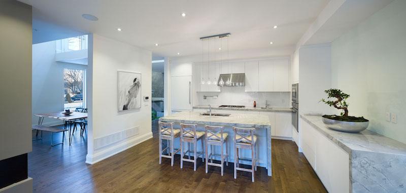 Garden Void House kitchen interior