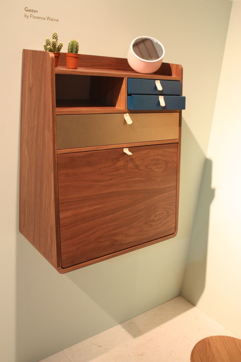 Gaston wall mounted desk