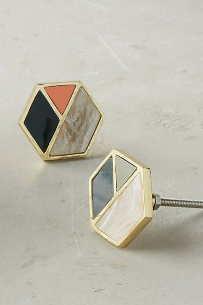 Glided geometric knobs