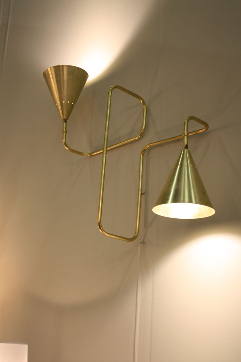 Golden touch for lighting fixtures