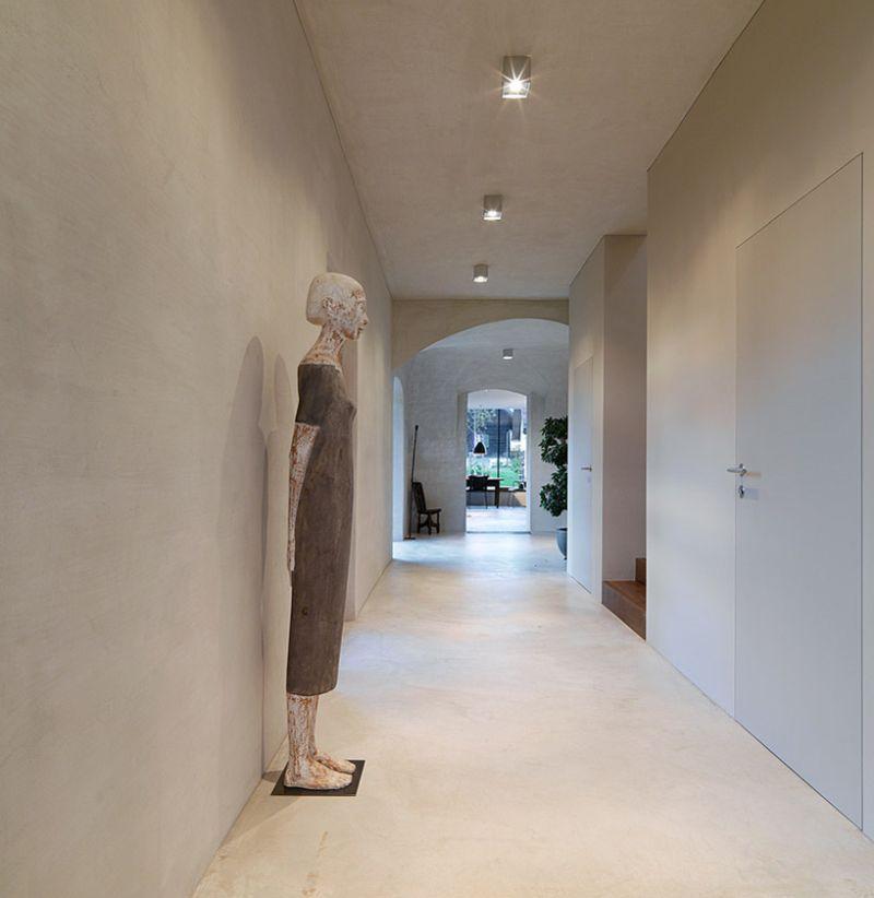 Haus P barn renovation hallway