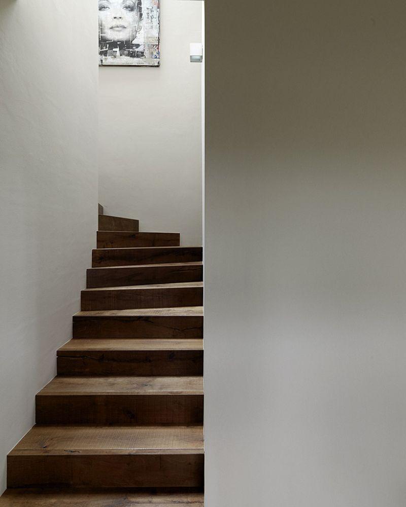 Haus P barn renovation staircase