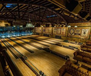 Vintage Bowling Alley Revived With A Steampunk Décor