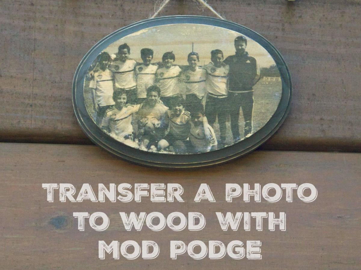 How to Transfer a Photo with Mod Podge