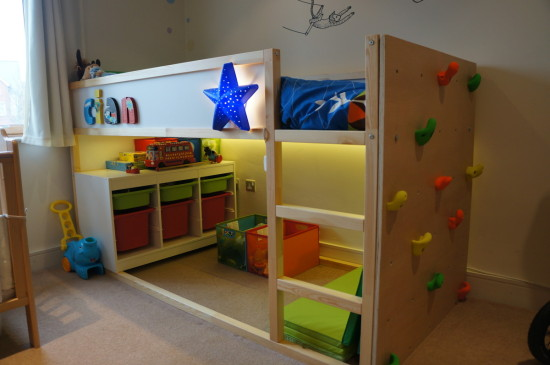 Kid Friendly Diys Featuring The Ikea Kura Bed