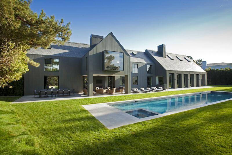 Los Angeles manor renovation pool