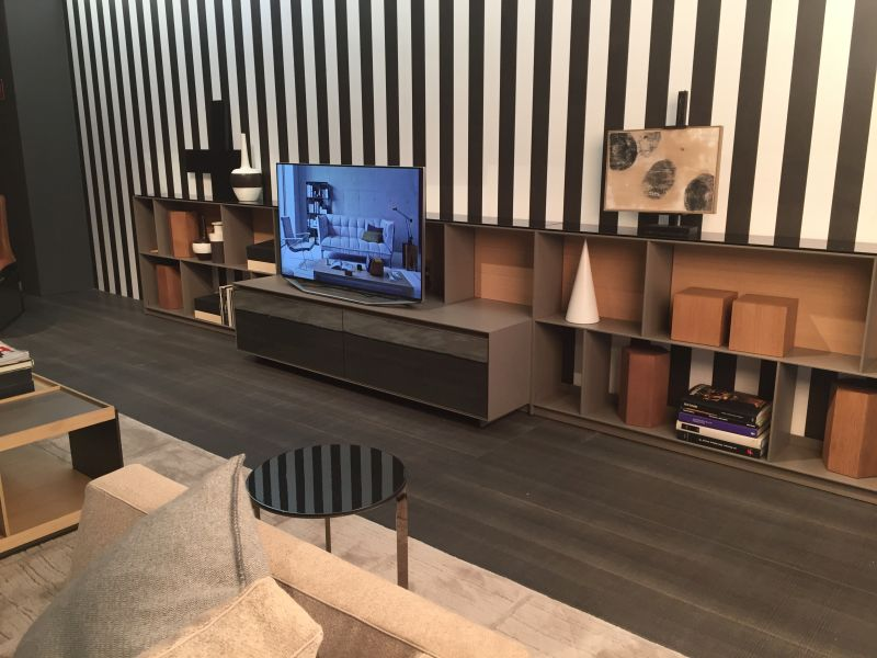 Low living room furniture with TV Stand