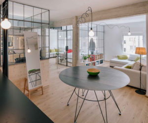 Refurbished Apartment Gets Rid Of All Its Doors And Partitions