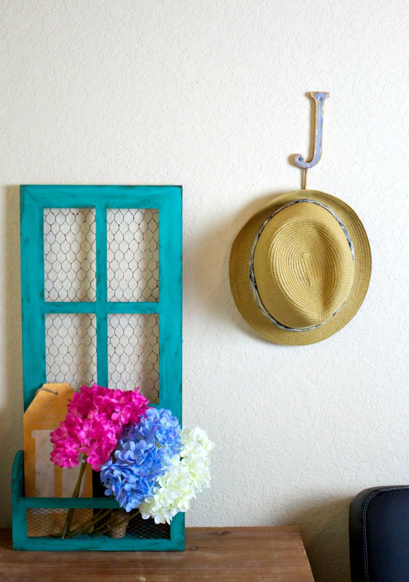 Make a Faux Metal Wall Hook