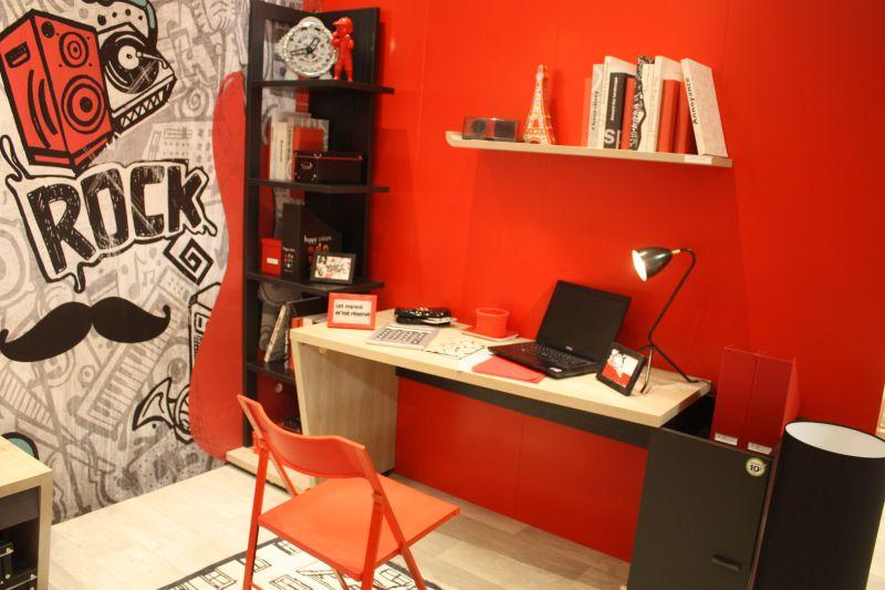 Modern Boys room desk