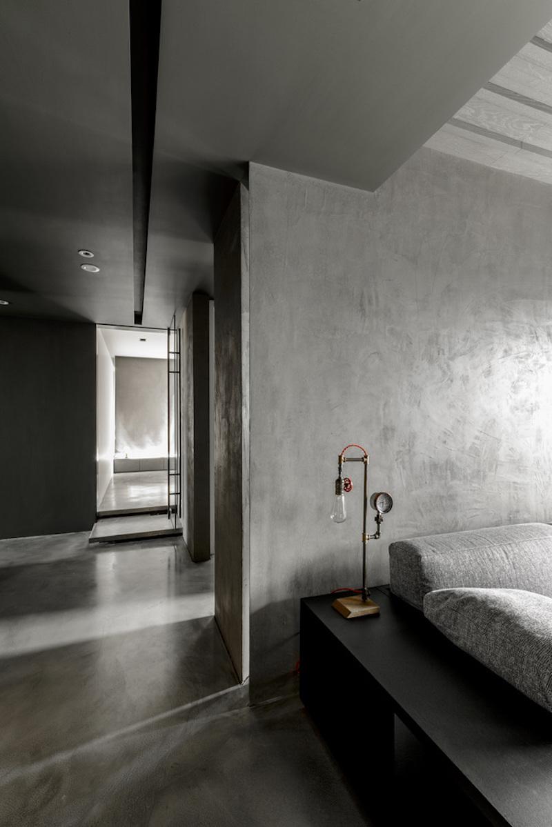 Modern Chinese apartment sofa platform