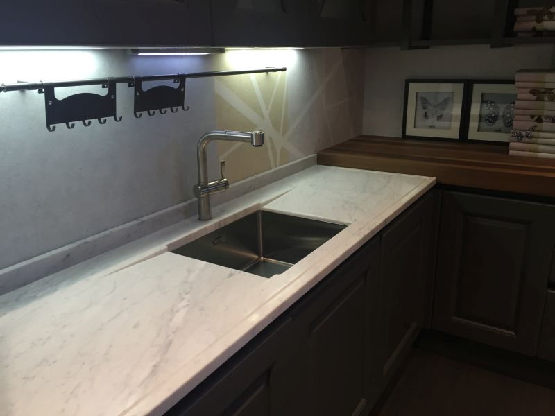 Carrara Marble Kitchen Modern