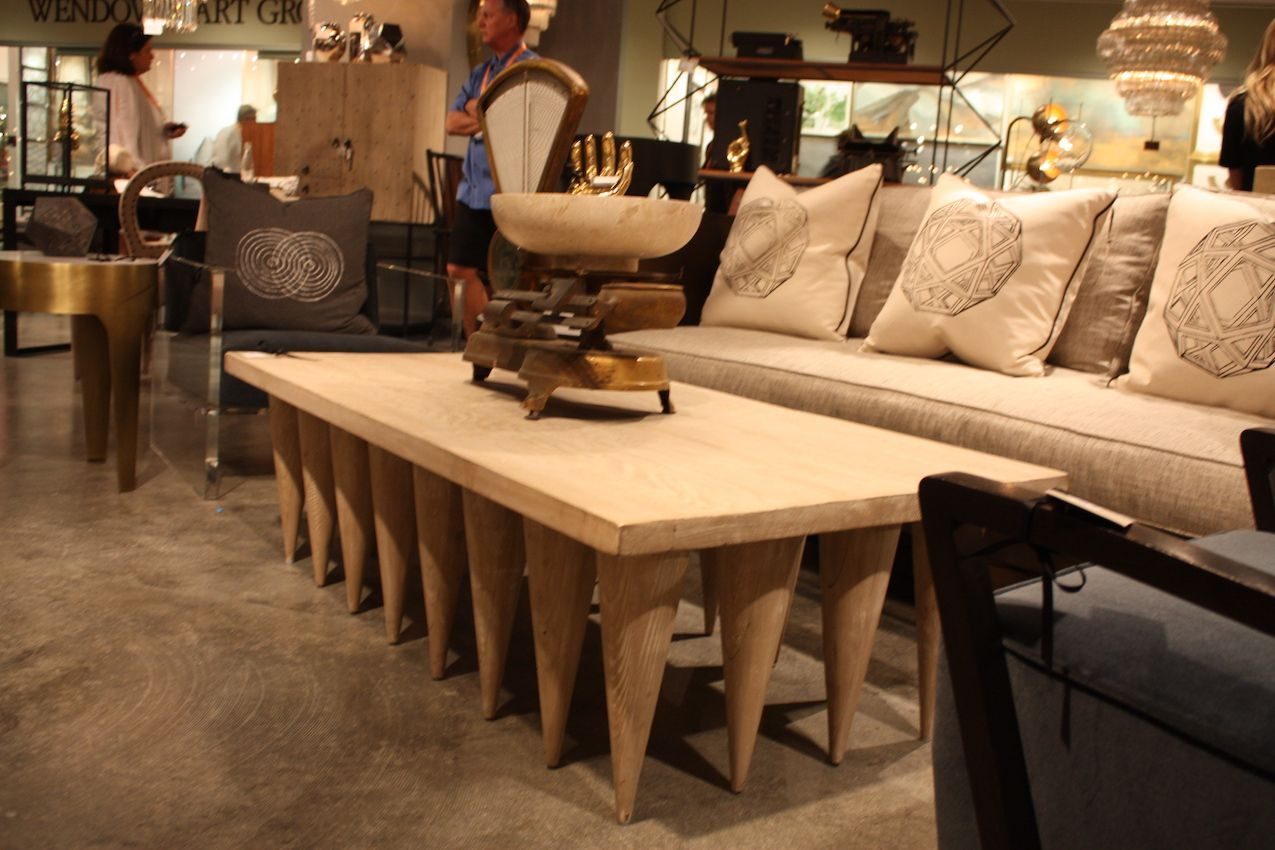 Noir multi leg coffee table