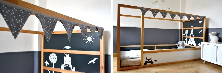 Kid-friendly DIYs Featuring The IKEA Kura Bed