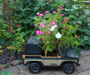 Turn Old Toys Into Planters