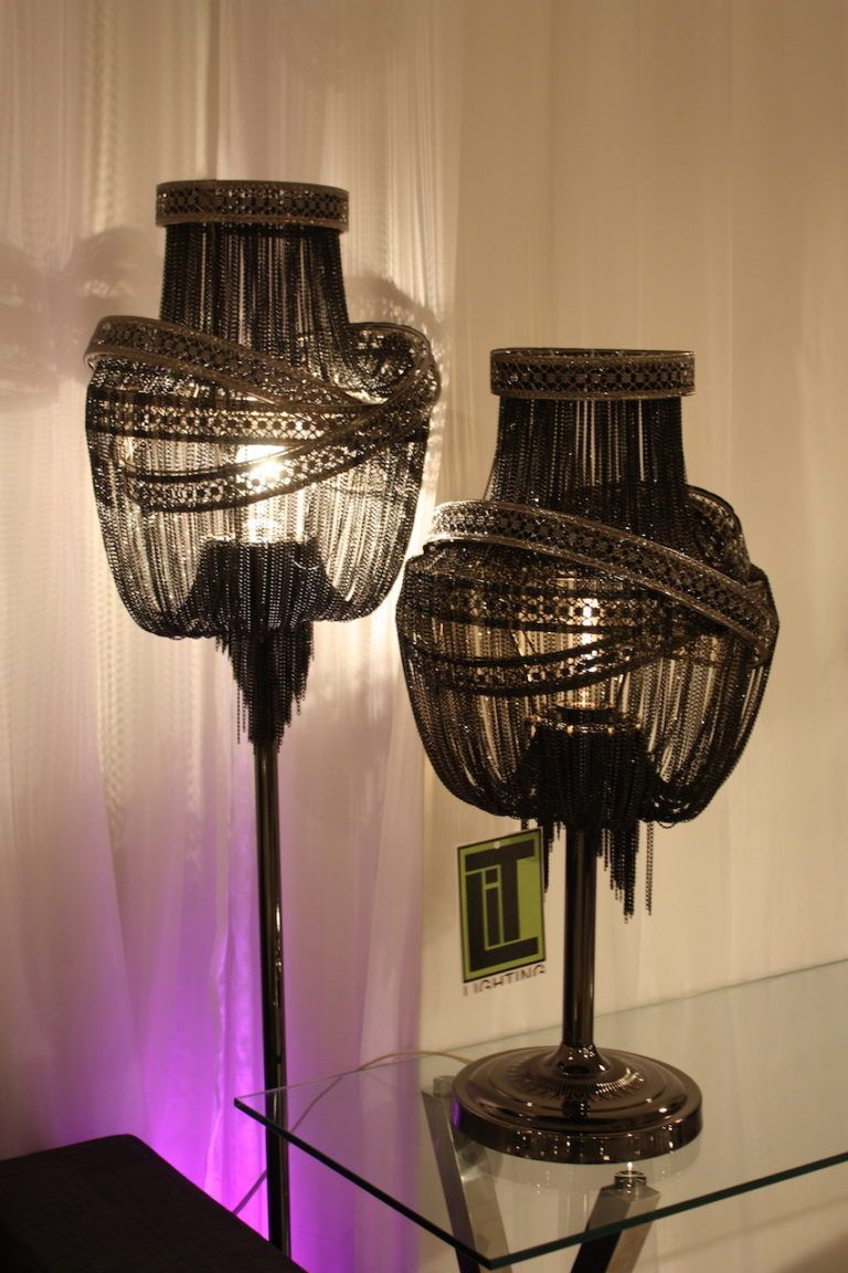 Pangea lamps from Las Vegas Market