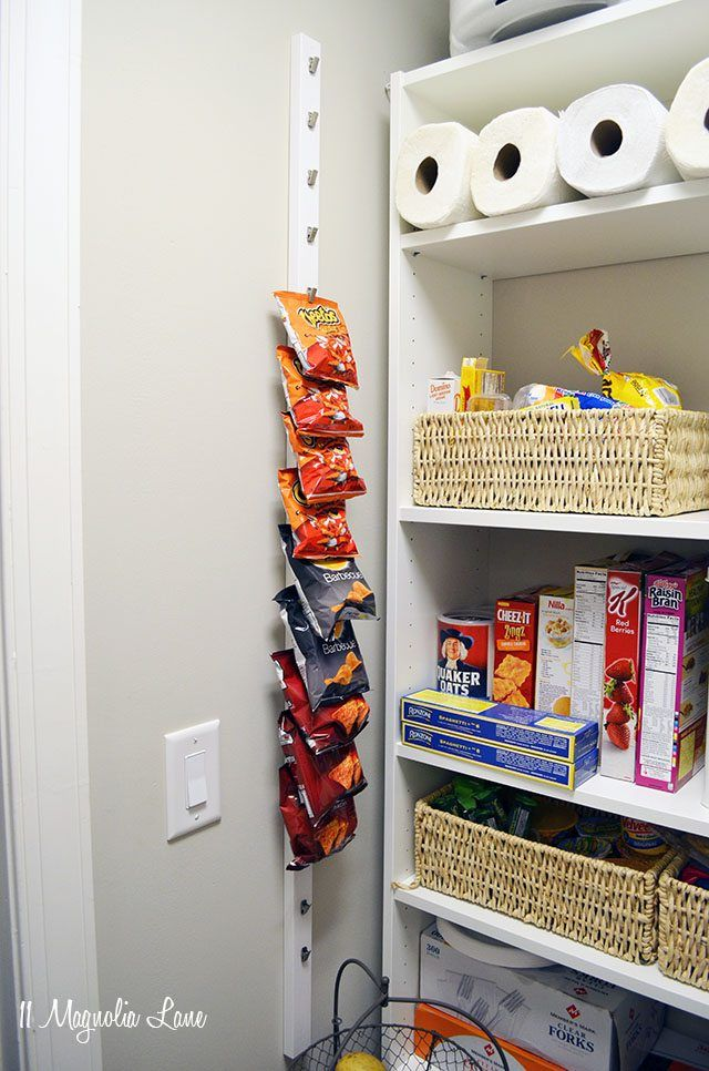 Pantry chips rack