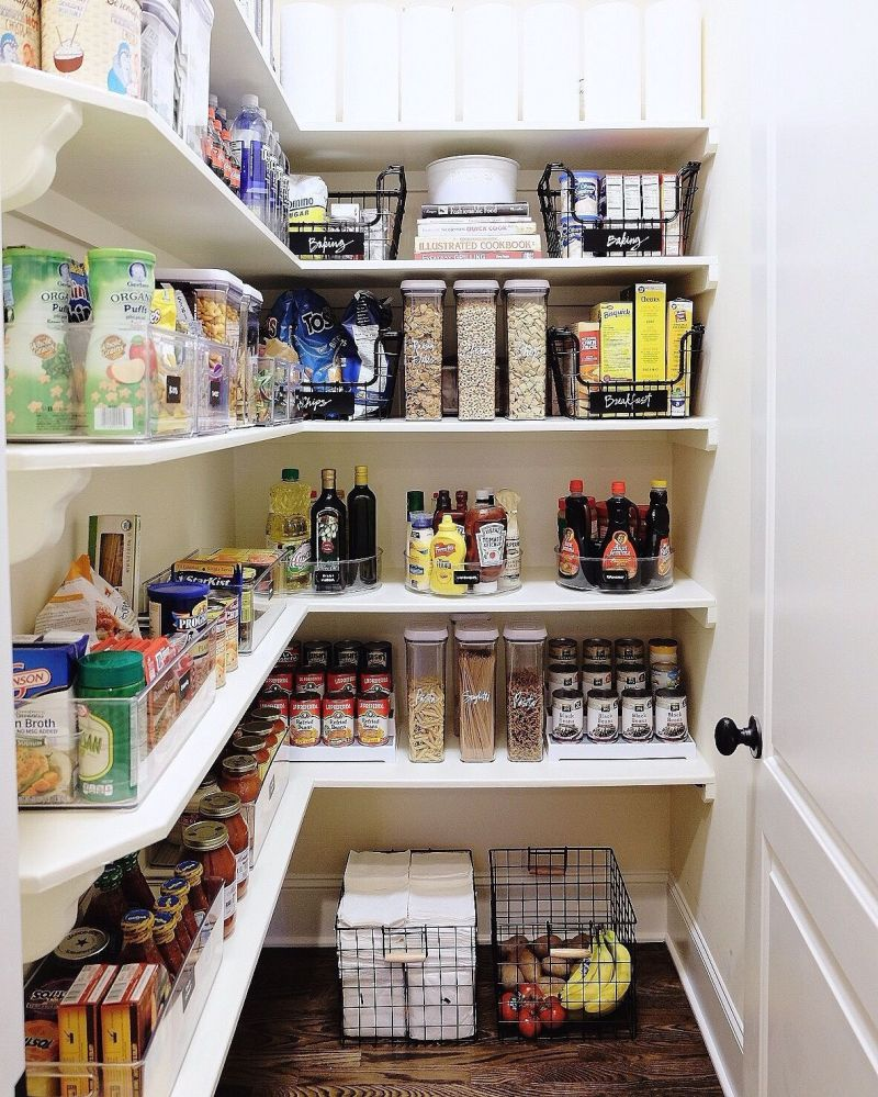 Kitchen Storage And Organization: 10 Ways To Achieve The Most Organized Pantry Ever