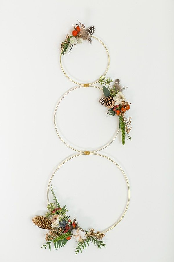Pine cone wreath and garland