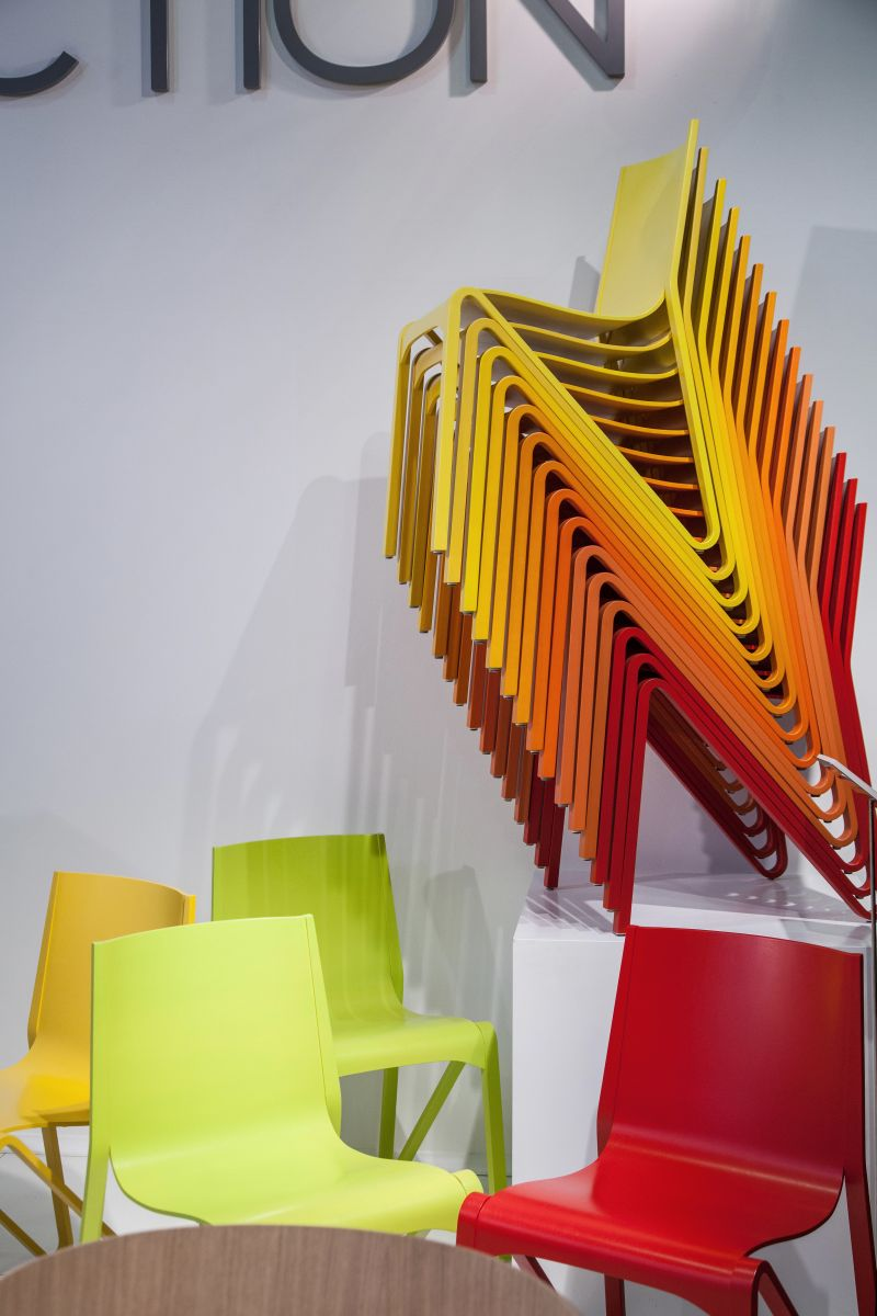 PlyCollection stacked chairs