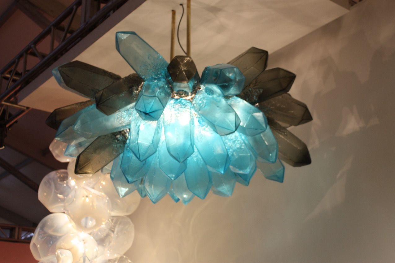 Light Fixtures Can Add Drama and a Stylish Pop of Color