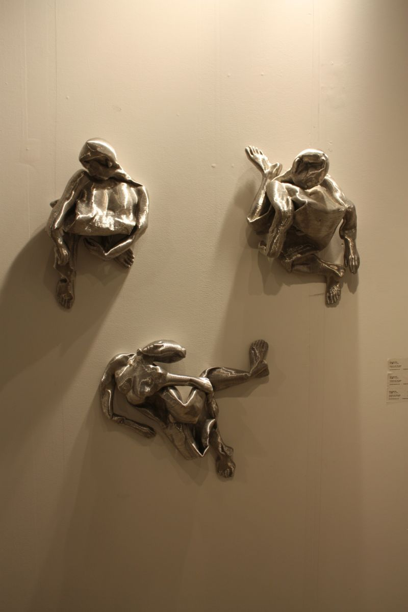 Seung Mo Park Collapsed wire figures