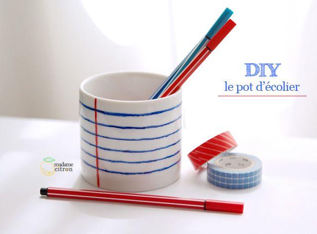 Sharpie pencil holder