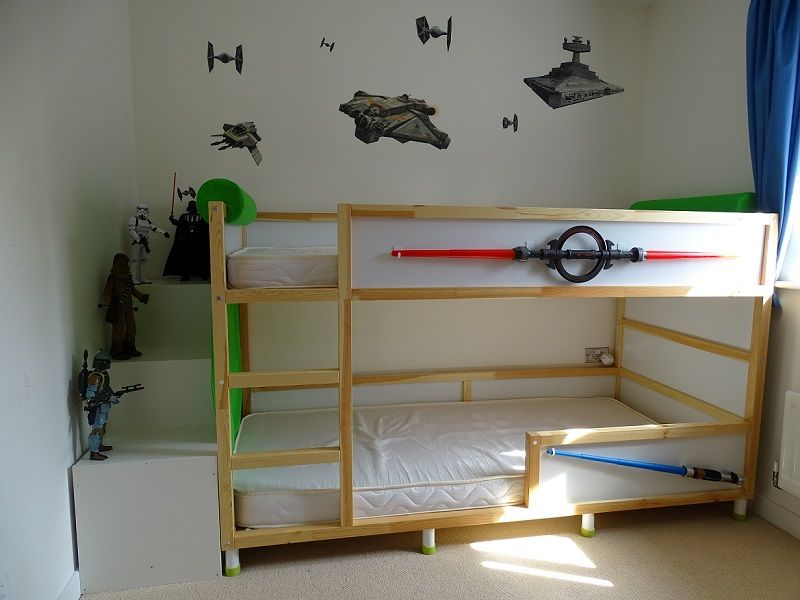 Starwars inpired Kura bed hack