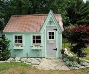... 10 Ideas To Style Your Garden Shed