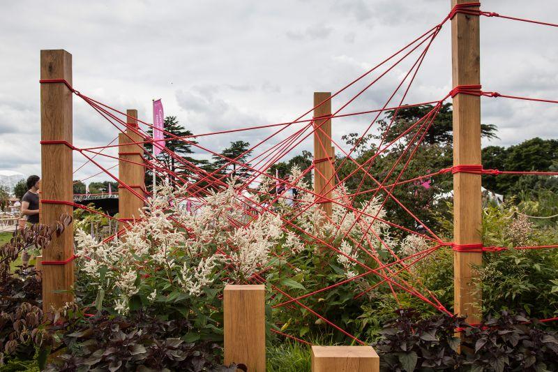 String Art In your Backyard