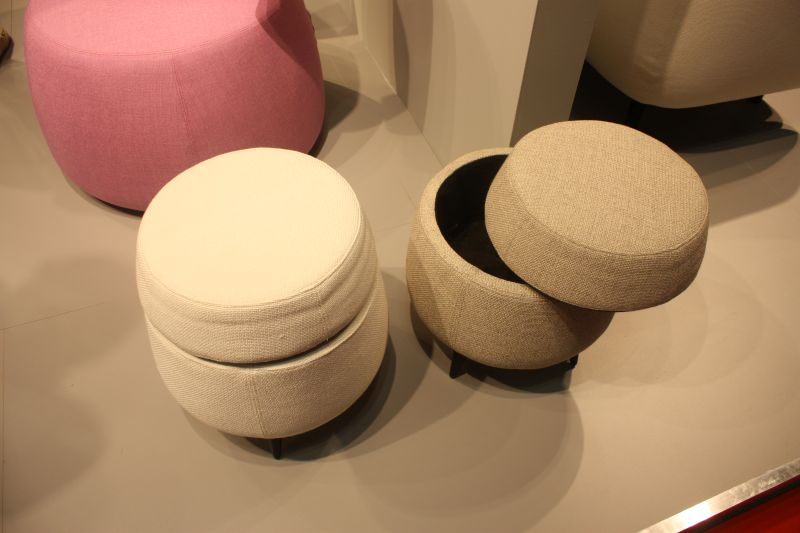 Tiny stools with storage