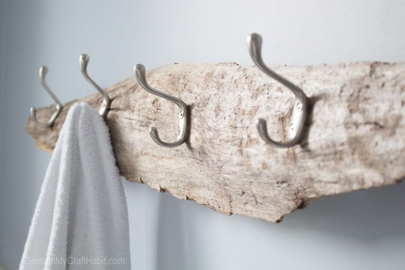 Towel beach rack