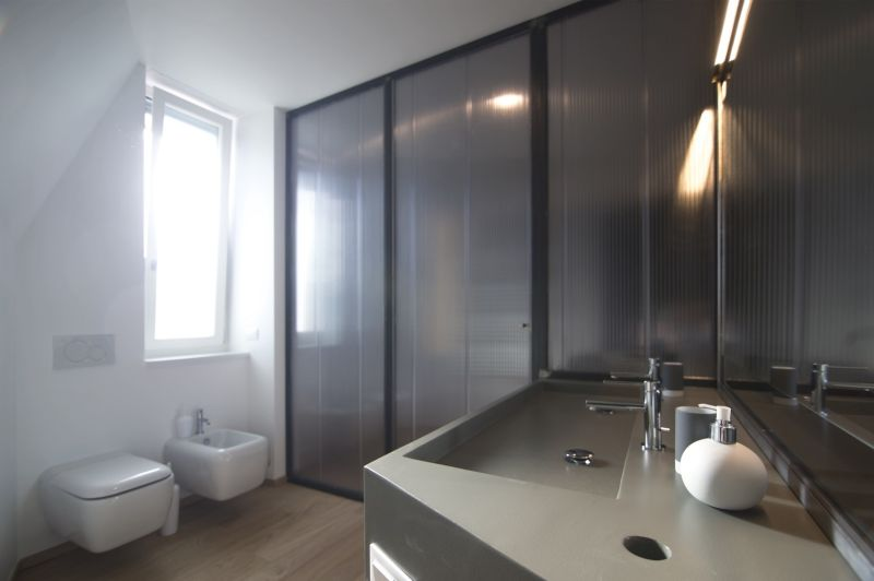 Turin apartment bathroom interior