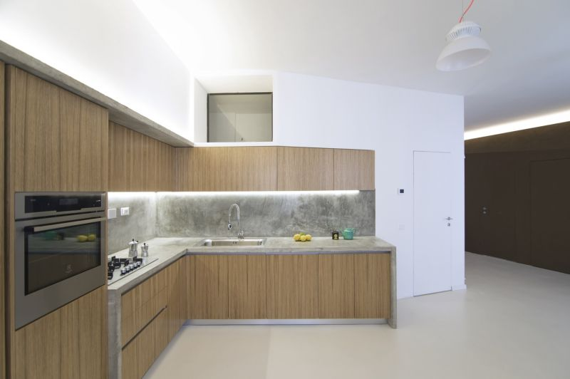 Turin apartment kitchen furniture