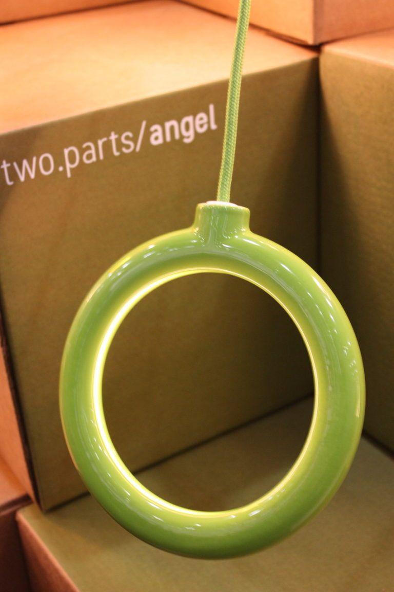 Two parts angel lighting fixtures