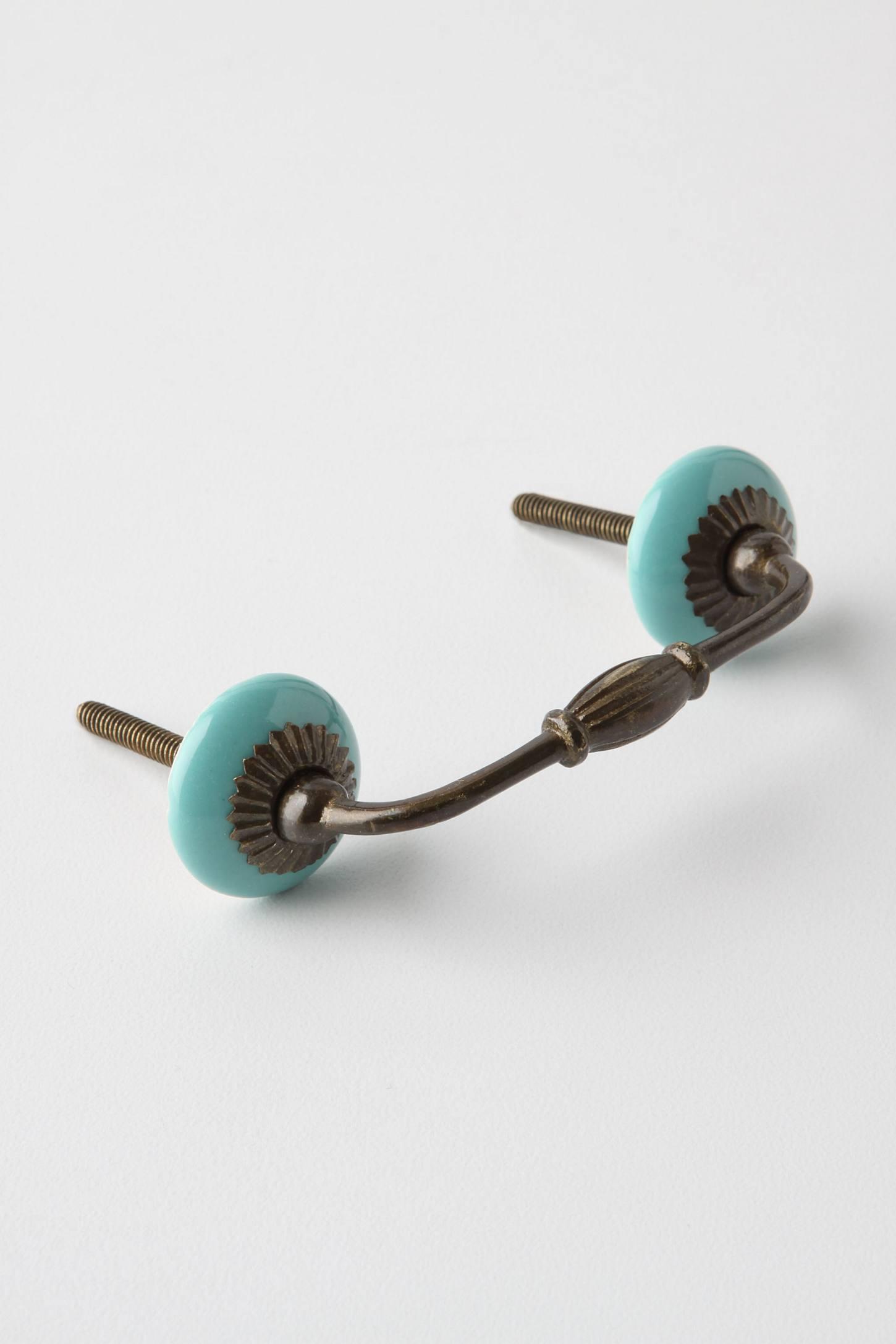 Vintage blue handle