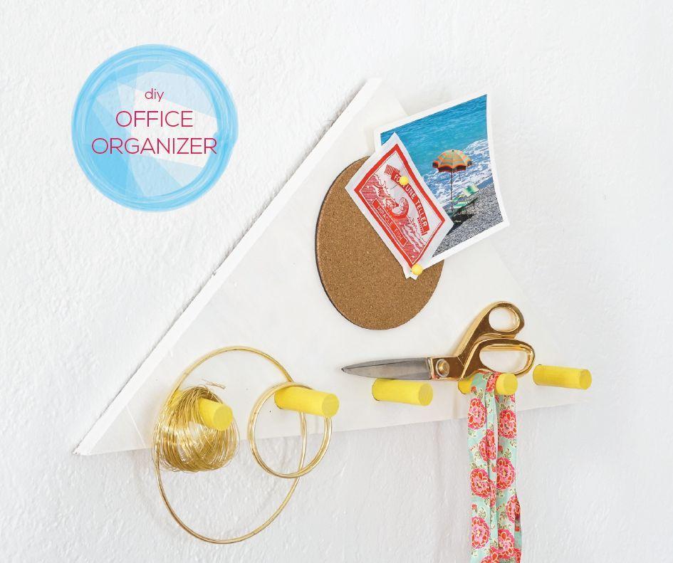 Wall office organizer