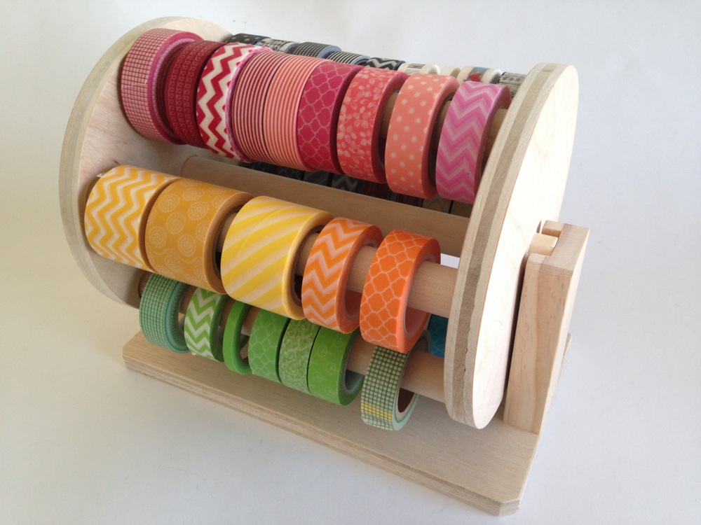 Washi wheel storage