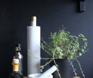 How To Make A Paper Towel Holder That Matches Your Kitchen