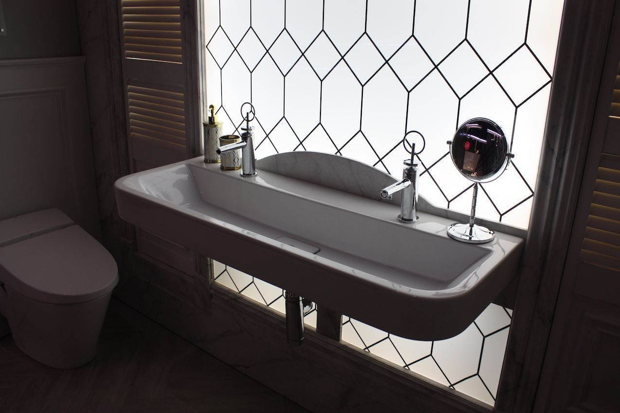 american standard wide sink