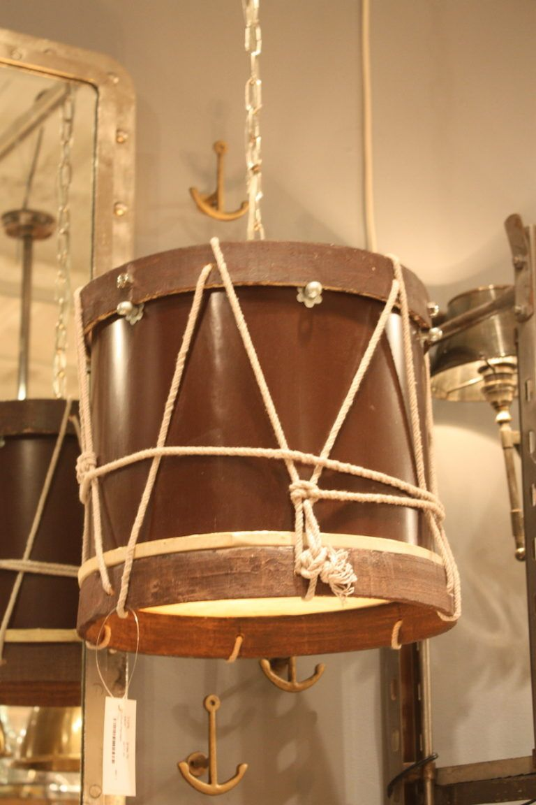 go Home drum pendant lighting fixtures from Las Vegas Market