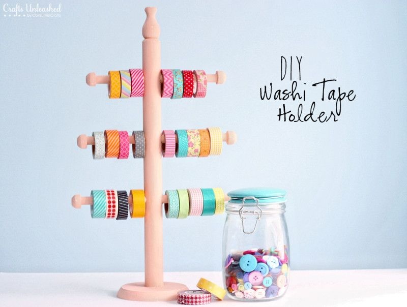 jewelry holder can be repurposed used to store washi tape