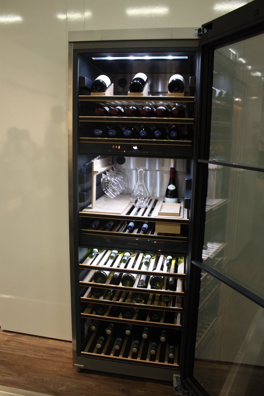 miele wine tower fridge