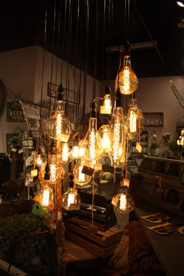 peacock park rustic pulb pendants with Edison bulbs