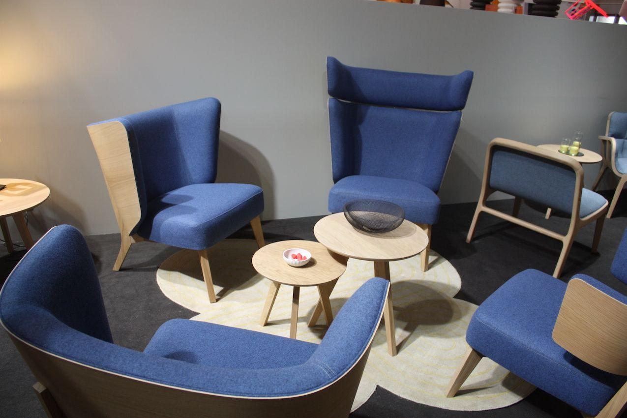 perrouin blue chair set - Cornflower Blue