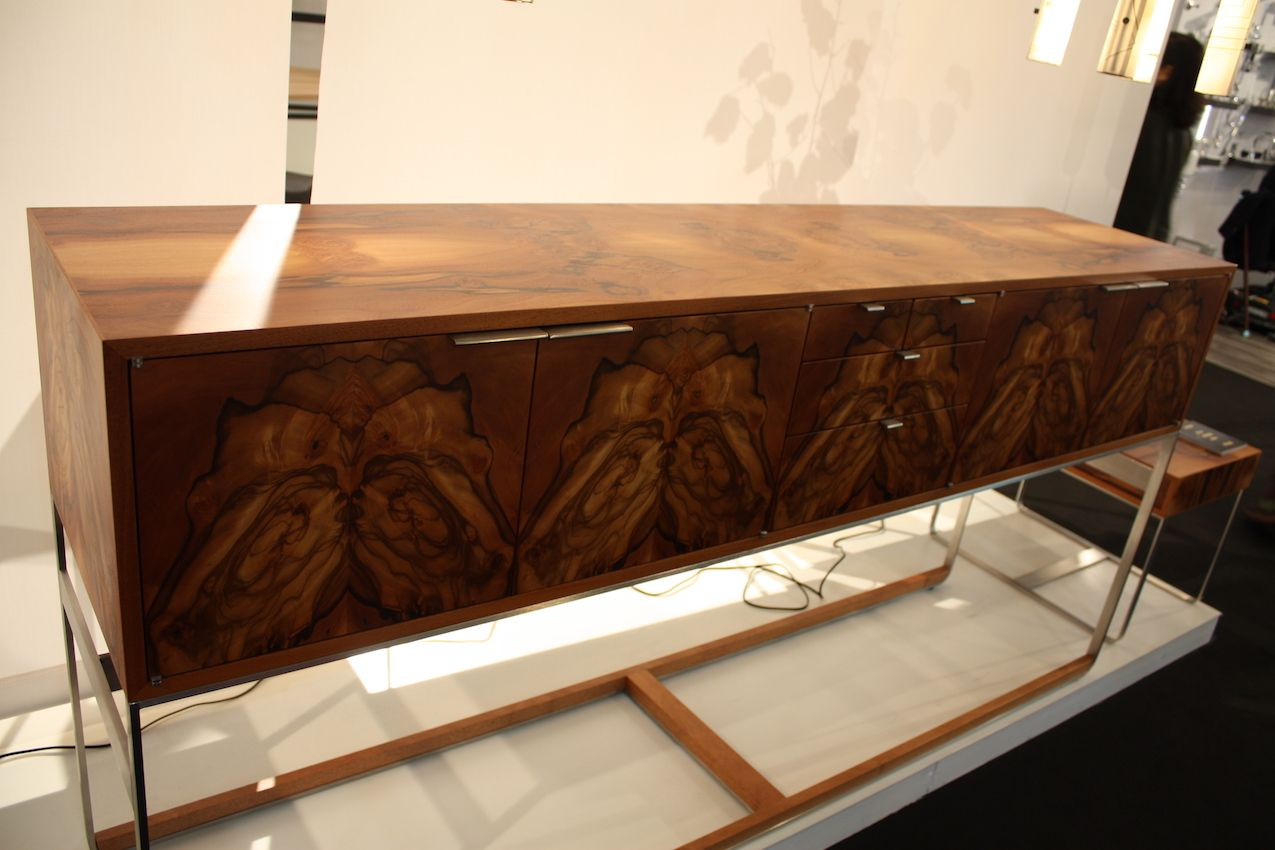 Limited edition Piedmont sideboard madeofpepperwood burl