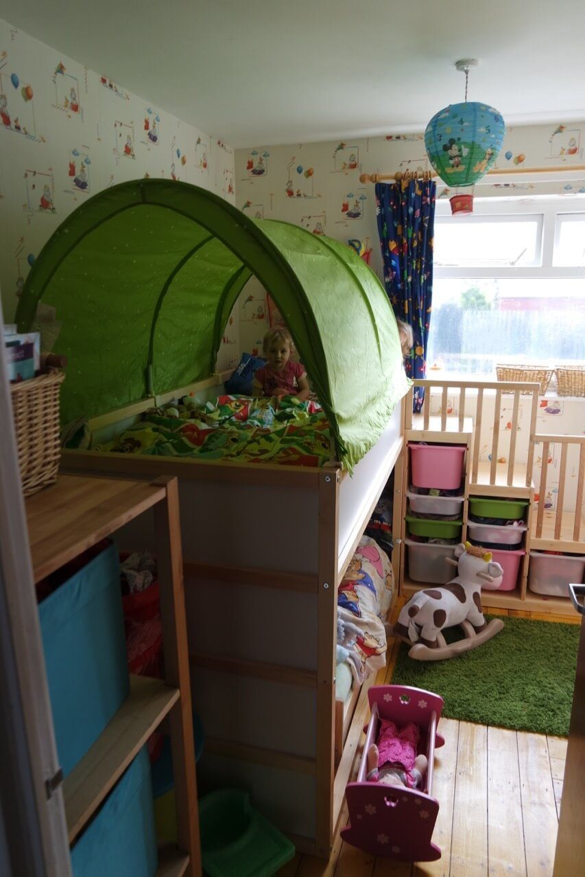 toddler-friendly bunk bed