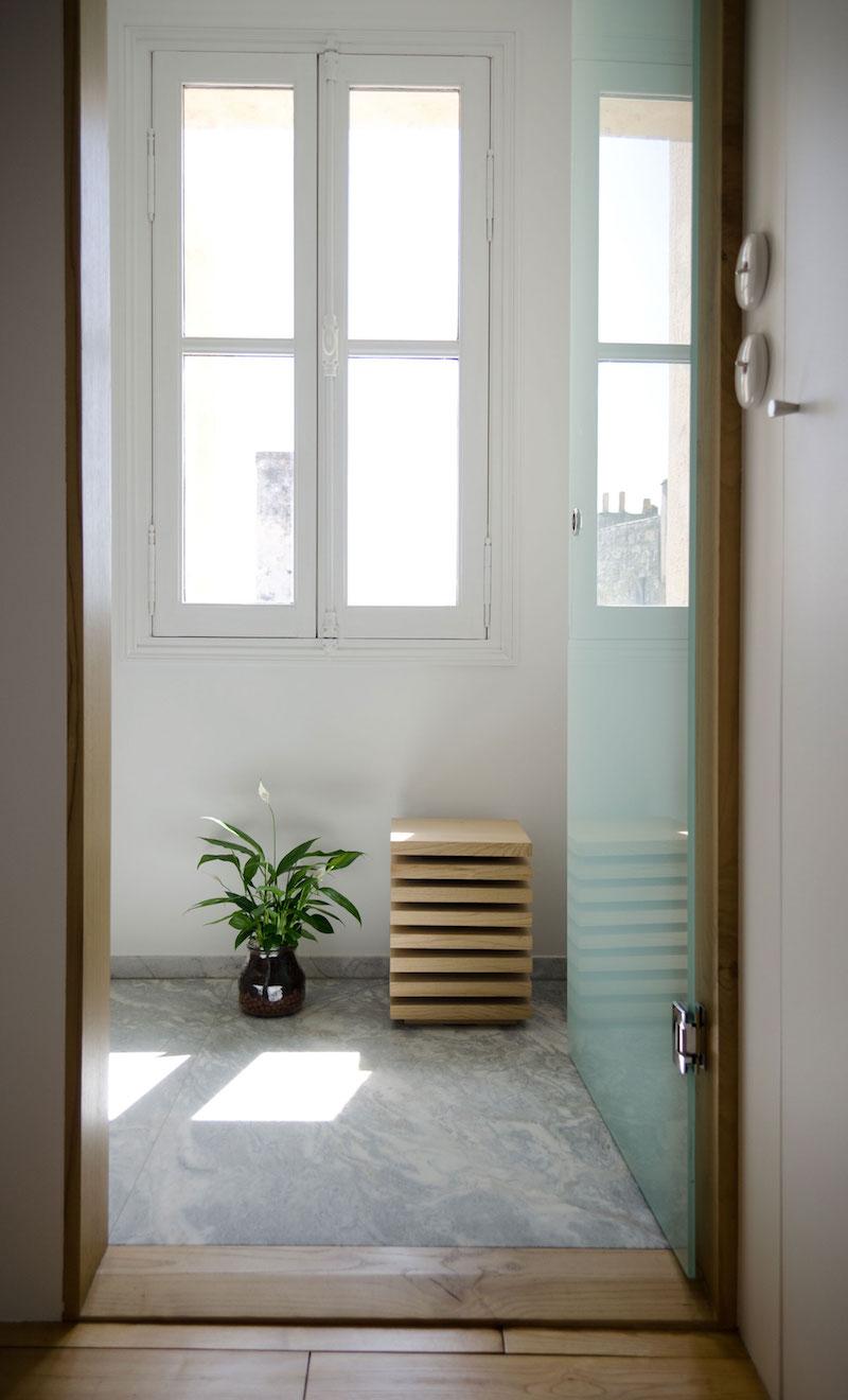 A big Little nest bathroom door