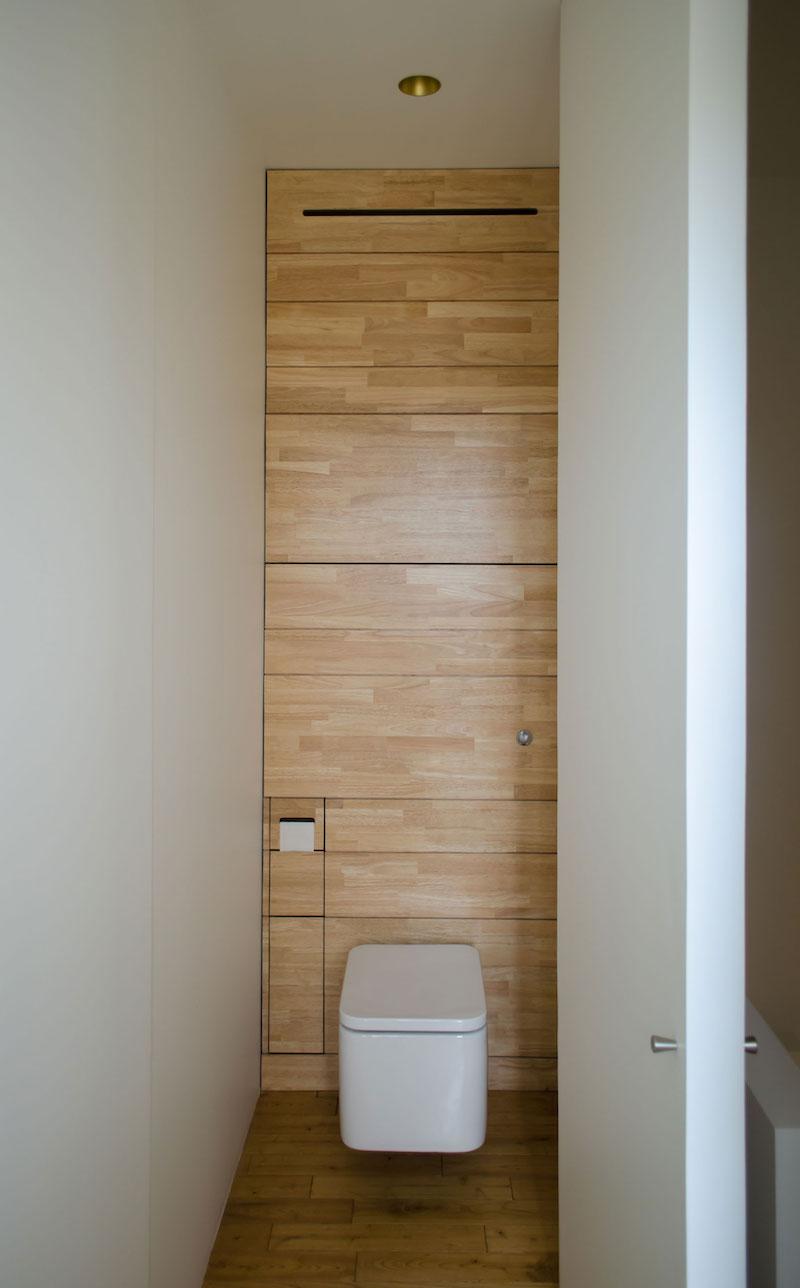 A big Little nest bathroom toilet area